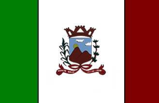 Bandeira de Monte Belo MG - Prefeitura Municipal